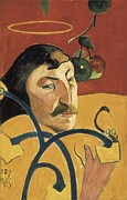Self-portrait Photos - Gauguin, Paul 1848-1903. Self-portrait by Everett