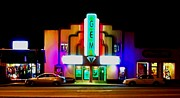 Heber Springs Photos - Gem Theater  by Brian Hubmann