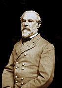 Paul Faust Posters - General Robert E Lee - CSA Poster by Paul W Faust -  Impressions of Light