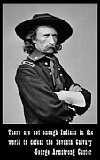 George Armstrong Custer Posters - George Armstrong Custer Poster by Unknown