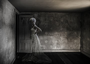 Ghost Photo Posters - Ghost Bride Poster by Diane Diederich