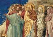 Raising Art - Giotto, Stories Of Christ The Raising by Everett