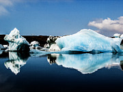 Runolfur Hauksson Prints - Glacier Lagoon. Print by Runolfur Hauksson