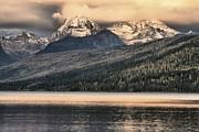 Adam Jewell - Glacier Snow Caps