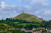 Tor Framed Prints - Glastonbury Tor Framed Print by Denise Mazzocco