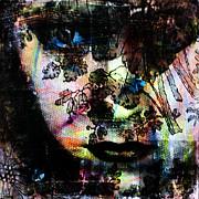 Gloria Swanson Print by Penelope Stephensen