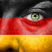 State Pride Prints - Go Germany Print by Semmick Photo