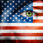 Make-up Prints - Go USA Print by Semmick Photo