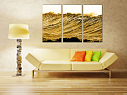 Surf Art Framed Prints - Gold Nugget Framed Print by Sean Davey