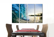 Surf Art Framed Prints - Golden Mile Framed Print by Sean Davey