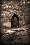 Old Country Roads Posters - Gothic Arch Poster by Kelly Hazel