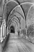 Mendicant Framed Prints - Gothic cloister  Framed Print by Jose Elias - Sofia Pereira