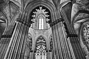 Church Founder Framed Prints - Gothic Columns Framed Print by Jose Elias - Sofia Pereira