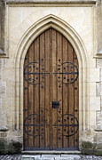 Medieval Entrance Prints - Gothic door. Print by Fernando Barozza