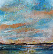 Abstract Map Originals - GPS Sunrise by Rebecca Myers