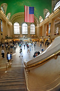 Transit Photos - Grand Central Station New York city by Amy Cicconi