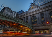 Yellow Taxis Framed Prints - Grand Central Terminal  Framed Print by Susan Candelario