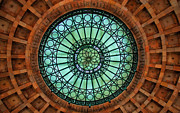 Pittsburgh Framed Prints - Grand Rotunda Pennsylvanian PIttsburgh Framed Print by Amy Cicconi