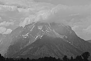 Black And White Photos Originals - Grand Tetons Beauty by Brian Wollner