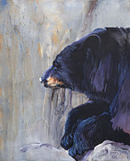 Guide Paintings - Grandfather Bear by J W Baker