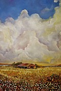Pasture Scenes Originals - Grandmas House by Alicia Maury
