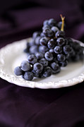 Purple Grapes Photos - Grapes by HD Connelly