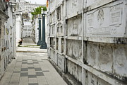 Afterlife Photos - Graveyard at La Ciudad Blanca by Sami Sarkis