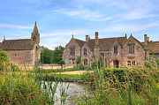 Great Chalfield Manor Print by Joana Kruse