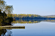 Montgomery Prints - Green Lane Reservoir Print by Bill Cannon