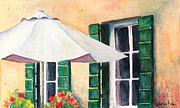 Marsha Young - Green Shutters