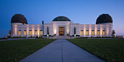 Dusk Framed Prints - Griffith Observatory Framed Print by Adam Romanowicz