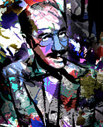 Groucho Digital Art - Groucho Marx by Allen Glass