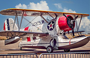 Grumman Prints - Grumman Duck Print by Steve Benefiel