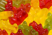 Gummy Candy Prints - Gummy Bears Print by Paul Brighton