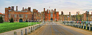 Hampton Court Prints - Hampton Court Palace Print by Jack Schultz