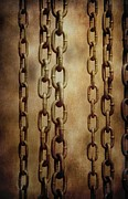 Hanged Chains Print by Carlos Caetano