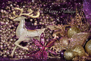 Lori Deiter Digital Art - Happy Holidays by Lori Deiter