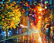 Leonid Afremov - Happy Street