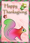 Jeanette K - Happy Thanksgiving Squirrel