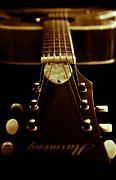 Hall Of Fame Prints - Harmony Guitar Print by Athena Mckinzie