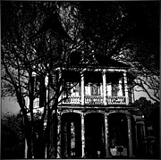 The Haunted House Acrylic Prints - Hauntings Acrylic Print by Sharon Katner