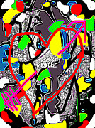 Etc. Digital Art - Heart by HollyWood Creation By linda zanini
