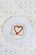Sliced Bread Prints - Hearty Toast Print by Joana Kruse