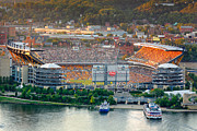 Heinz Field Posters - Heinz field Poster by Emmanuel Panagiotakis