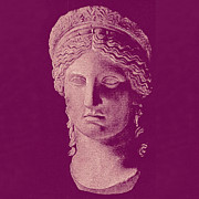 Greek Sculpture Prints - Hera Print by Ellen Henneke