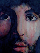 Singer Songwriter Art - Hey Jude by Paul Lovering