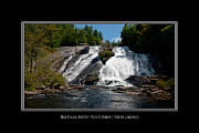 Mohicans Posters - High Falls North Carolina Poster by Charles Beeler