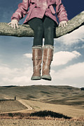Boots Photos - High Over The World by Joana Kruse