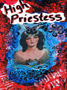 High Priestess Prints - High Priestess Print by Teca Burq