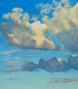 Big Skies Paintings - Higher Ground by Christine Campbell